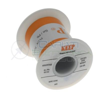 250gr Reel soldering wire 1mm 60/40 Sn60 PB40 NoClean Keep Salder Keep