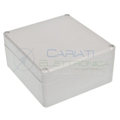 Scatola Contenitore 125x58x115mm IP65 per elettronica Custodia in plastica
