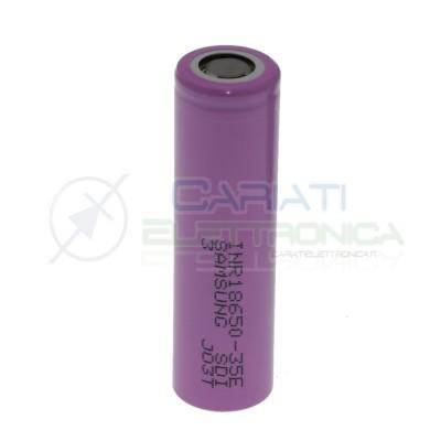 Batteria 18650 Samsung INR18650-35E 3450mAh ricaricabile 3,7V - 4,2V Samsung