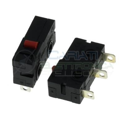 2 Pezzi MicroSwitch a leva Pulsante Fine Corsa Micro Switch Finecorsa