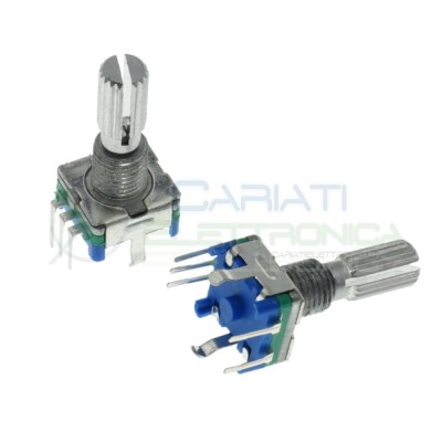 Encoder rotativo 2 canali con Pulsante 5 pin Albero 13mm