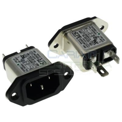 Filtro di rete 250Vac 15A 15SRB1-Y IEC TE Connectivity Schrack