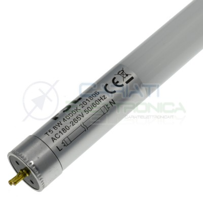 Neon a Led 4000K T5 8W 230Vac Diametro 21mm Lunghezza 548mmFSL lighting