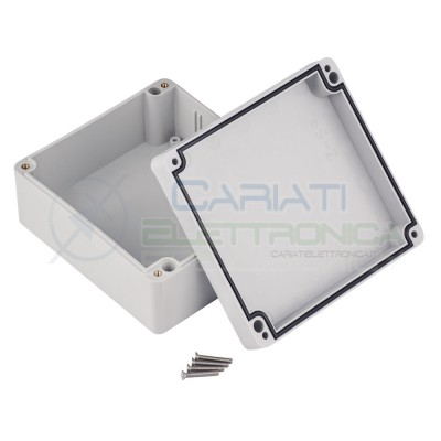 Plastic Enclosure 125x58x115mm IP67 for electronic boards pcb projectsKrade