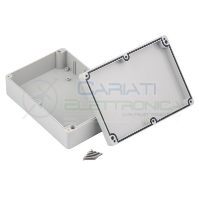 Plastic Enclosure 224x80x174mm IP67 for electronic boards pcb projectsKrade
