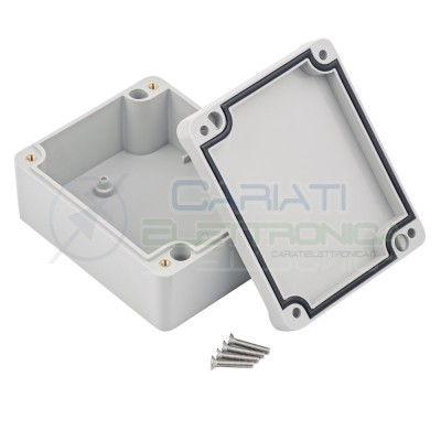 Plastic Enclosure 89x41x74mm IP67 for electronic boards pcb projectsKrade