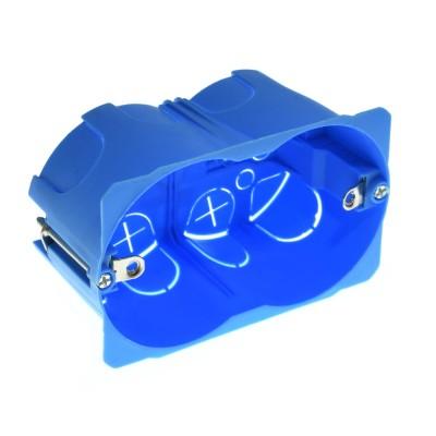 Scatola cassetta di derivazione 110x65x45mm FG10253 per cartongesso in tecnopolimero ad alta resistenzaFaeg