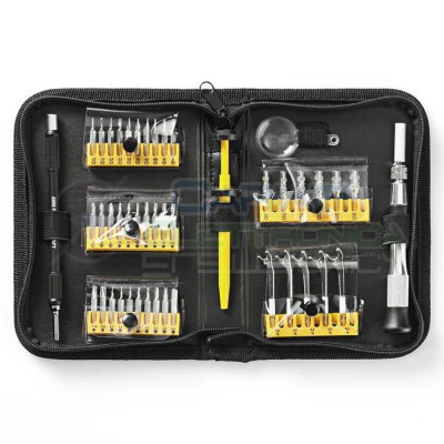 47pz Set di Precisione Cacciaviti tools Riparazione Torx Telefono Laptop Kit AccessoriNedis