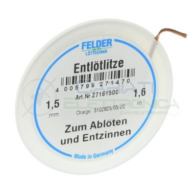 Treccia Trecciola Dissaldante Da 1,5mm Lunghezza 1,6m Felder Felder