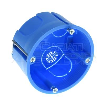Scatola cassetta di derivazione 60x40mm FG10252 per cartongesso in tecnopolimero ad alta resistenza Faeg