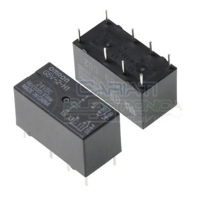 Relè G5V-2-H1 24V Dpdt Omron G5V-2-H1 24VDC 2A Omron