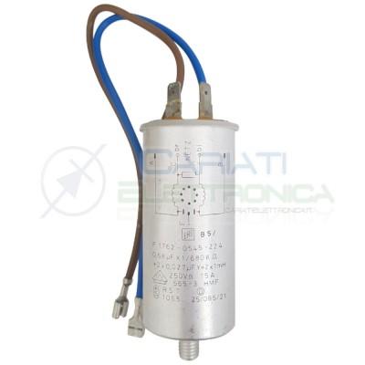 Condensatore 0.68uF 250V per Whirlpool AWG 758 F 1762-0545-224 Generico