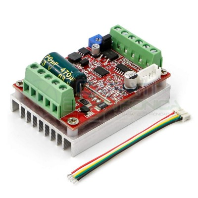 Driver scheda per controllo motore Brushless Bldc con effetto Hall Controller Generico