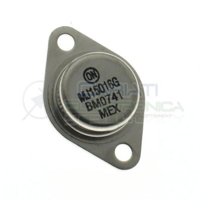 MJ15016G Transistor BJT Audio PNP 120V 18MHz 180W 15A 70hFEOn semiconductor