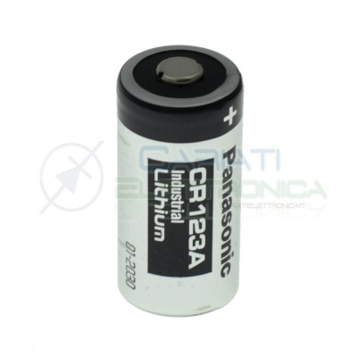 Battery CR123A 3V Panasonic Lithium CR123Panasonic