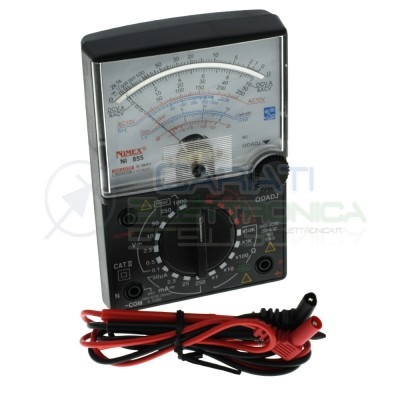Multimetro tester analogico 1000V Nimex Ni855 Nimex