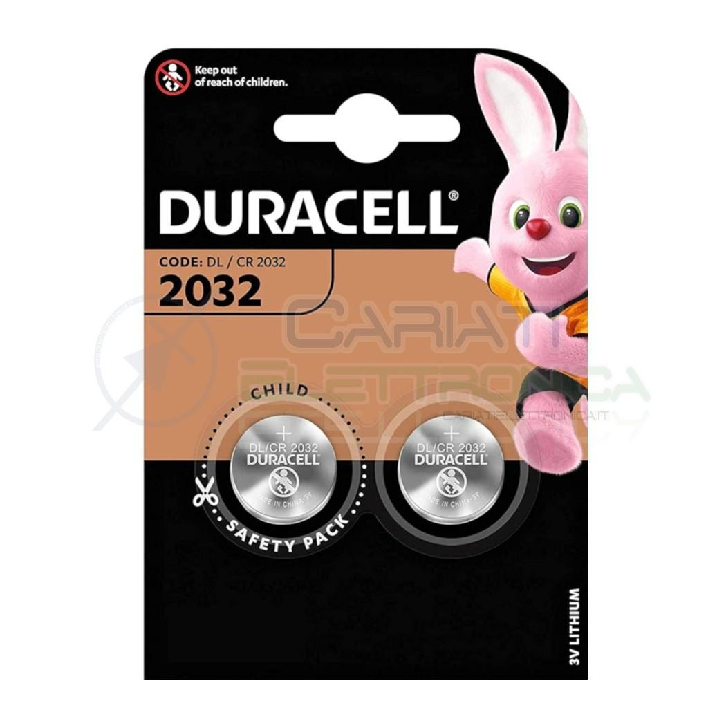 BATTERIA DURACELL LITHIUM 2032 CR2032 CR 2032 DL2032Duracell