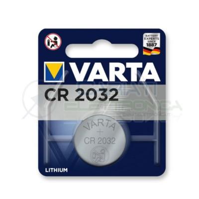 CR2032 Batteria Varta 3V Bottone in litioVarta