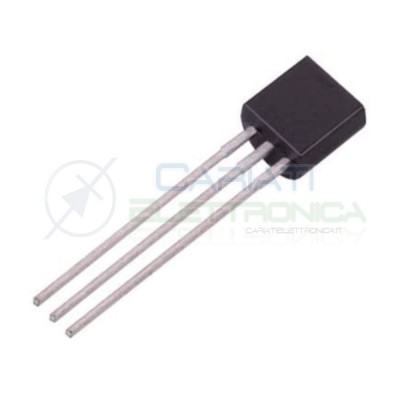 5x Transistor BJT BC640TA PNP -80V -1A 800 mW TO-92On semiconductor