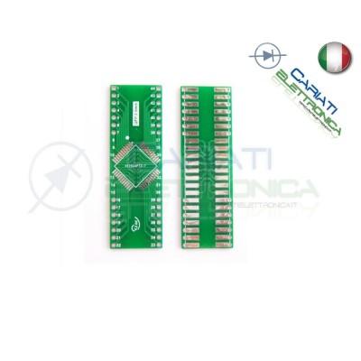Adattatore Basetta Test PCB QFP44 a DIP