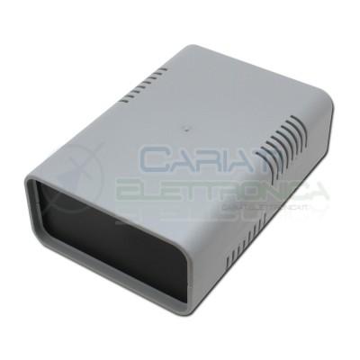 Contenitore per l'elettronica in plastica 135x95x45mm custodia in Abs Grigio Donau