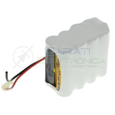 Batteria 9,6V Ricaricabile 1000mah Ni-Cd pacco batteria AA Extracell