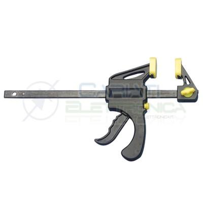 Pistola Morsetto di fissaggio rapido a mano singola apertura max 100mmDonau
