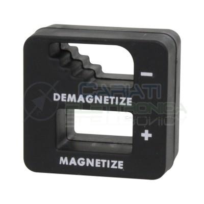 Magnetizzatore smagnetizzatore 52x50x29mm per cacciaviti pinzette e simili utensili in acciaioDonau