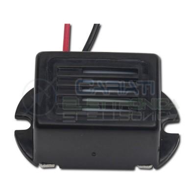 Cicalino Buzzer 1,5V 2V dc rettangolare con oscillatore integrato e cavoKepo