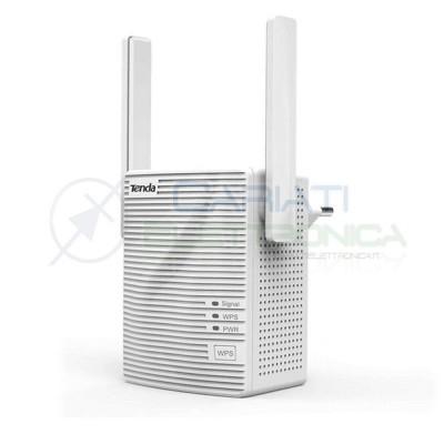 Range extender wireless Ripetitore Wifi 300Mbps a muro 1porta LAN Tenda A301Tenda