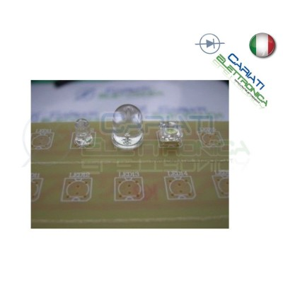 4 pz BASETTA PCB BARRA PER LED 5MM 10MM FLUX 45CM 10,00 €