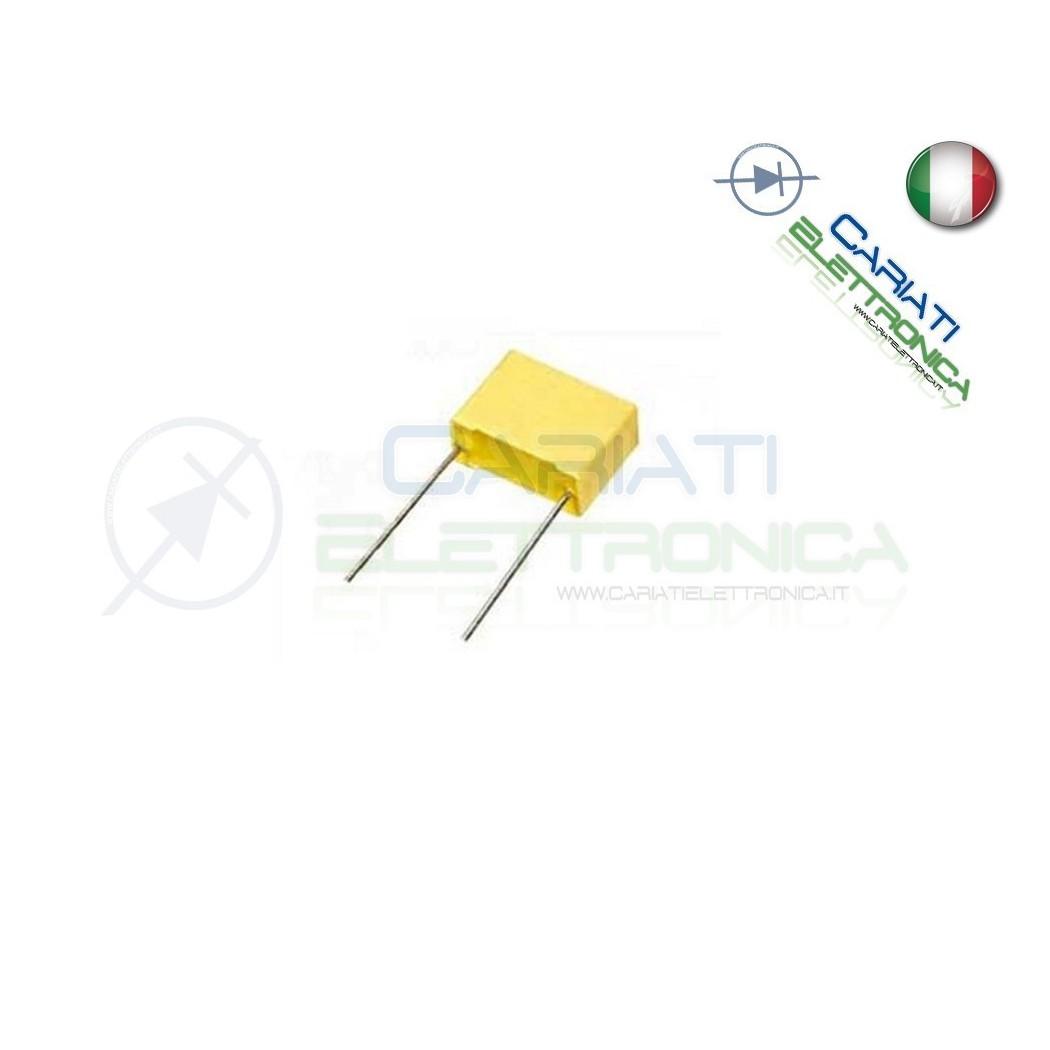 10 PEZZI Condensatore Poliestere 1,5nF 1,5 nF 100V P 5mm