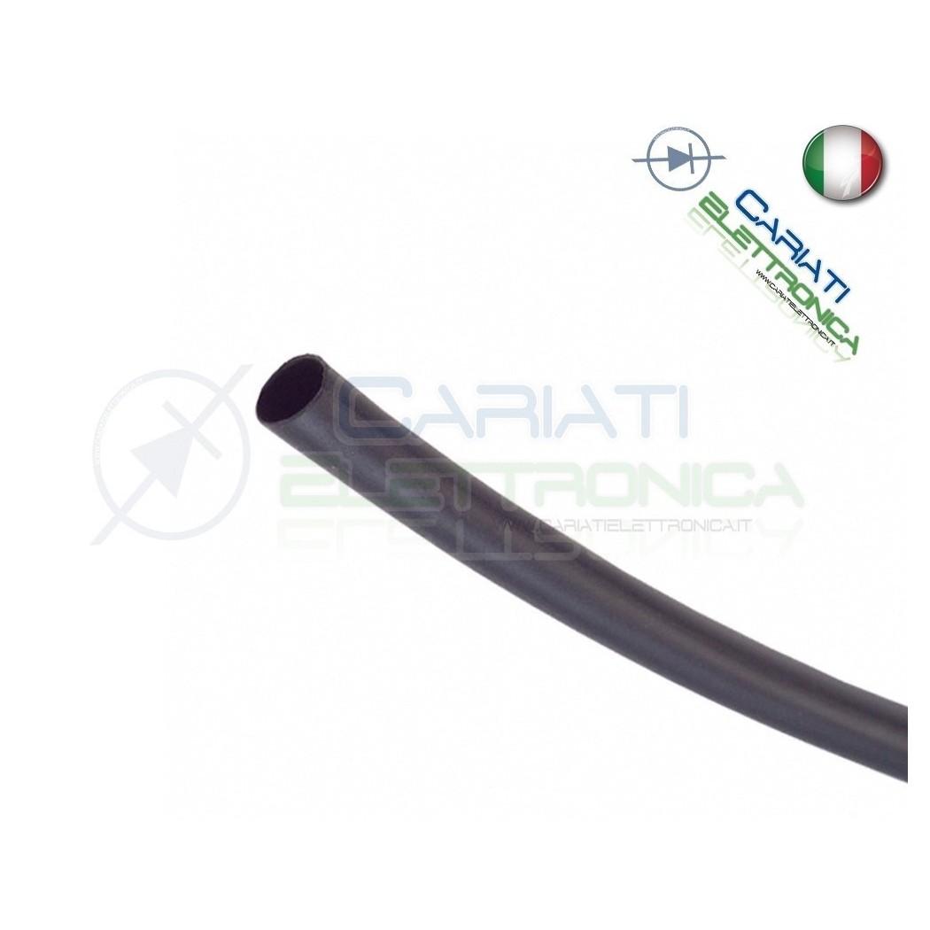 Guaina Termoretraibile Termorestringente NERA 2m da 3mm