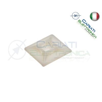 10 PEZZI Supporto Adesivo per Fascette Cablaggi PortaFascette 28x28 2,00 €