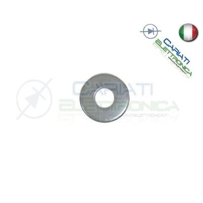 100 PEZZI Rondella M3 in Metallo Distanziali Rondelle Piana  2,50€