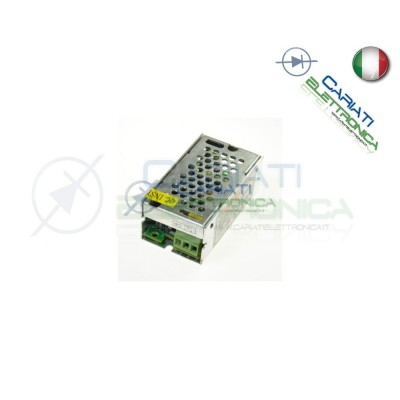 ALIMENTATORE SWITCHING 230VAc 12V 1.25A 15W CCTV LED