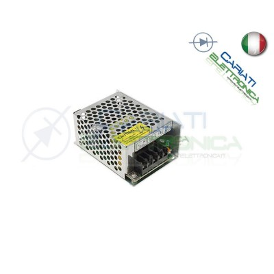 ALIMENTATORE SWITCHING 230Vac 12V 2A 25W CCTV LED