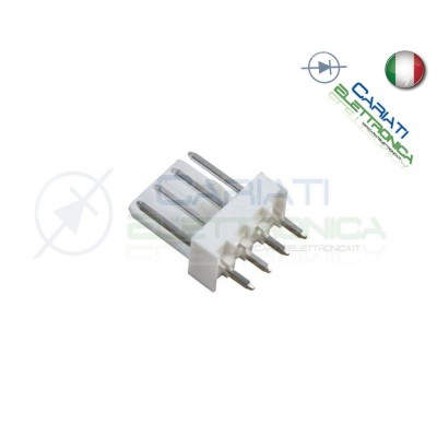 5 PEZZI Connettore Connettori MK Maschio 4 Poli Generico