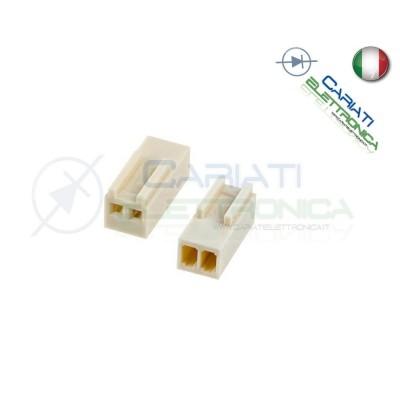 5 PEZZI Connettore Connettori MK Femmina 2 Poli  1,00€