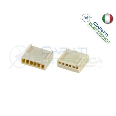5 PEZZI Connettore Connettori MK Femmina 6 Poli  1,00€