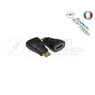 Adattatore HDMI femmina a HDMI Tipo C mini maschio Connettore Convertitore