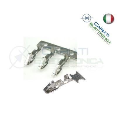 100 Pezzi Contatti per Connettore Connettori MK Femmina  4,50€