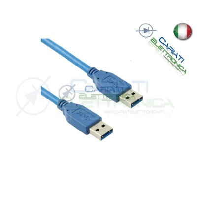 5 PEZZI Cavo USB 3.0 Maschio / Maschio Spina A 1.8 m mt MM AA Presa 1.8m 16,00 €