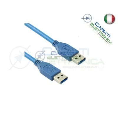 Cavo USB 3.0 Maschio / Maschio Spina A 3 m mt MM AA Presa 3m 5,49 €