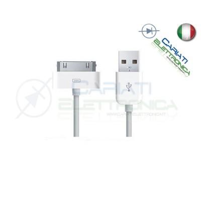 10 PEZZI CAVI CAVO DATI USB IPHONE 3 3G 3GS 4 4S IPAD IPAD2 IPOD 14,99 €