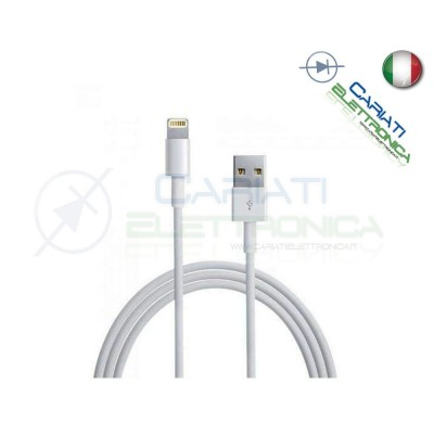 5 PEZZI CAVI CAVO DATI USB 3 Metri per IPHONE 5 5S 5C 6 6 Plus IPAD 4 IPODGenerico