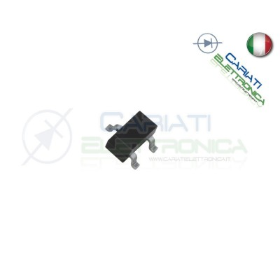50 PEZZI 2N7002 Transistor MOSFET SOT-23 N-Channel 4,00 €