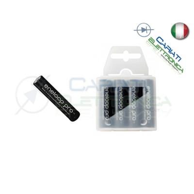 4 STILO AAA BATTERIE RICARICABILI ENELOOP PRO PANASONIC ex SANYO XX 950 mAh Panasonic