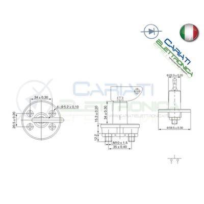 Interruttore Batteria Staccabatteria 100A 12v 24V Chiave Auto CAMPER