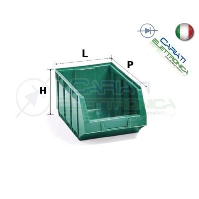 Contenitore in Plastica BOCCA DI LUPO Dimensione L 105 P 167 H 82 mm